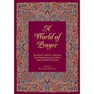 Book Cover, A World of Prayer