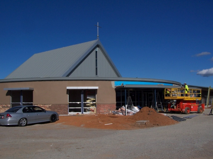 St Paul's Lutheran Church and African House Shepparton