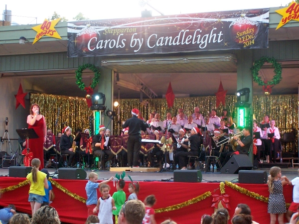 Carols by Candlelight 2014, Shepparton