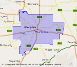 Greater Shepparton Census Area