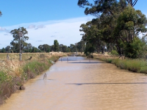 Irrigation Channel in the Goulburn Valley