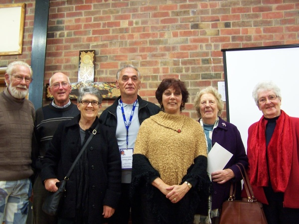 Vicki Clark with members of the Shepparton Interfaith Network