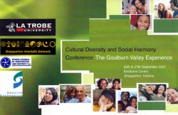 Social Diversity and Harmony Conference Cover