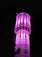 Mooroopna Tower light up in Purple in observance of World Elder Abuse Day