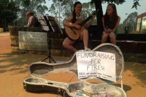 fundraising for bushfires