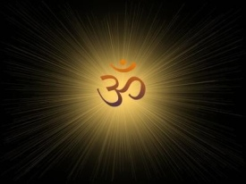 Om, the pranava, source of creation