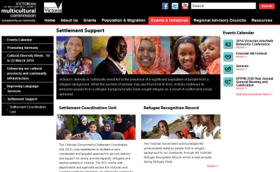 Victorian Multicultural Commission - Support for Refugees