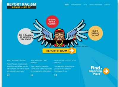 Report Racism Website