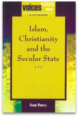 Book Cover, Islam, Christianity and the Secular State
