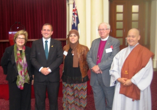 Guest Speakers and presenters at World Interfaith Harmony Week, Melbourne, 2013