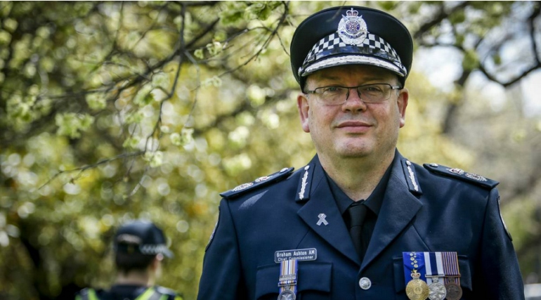 Graham Ashton, Commissioner of Police, Victoria
