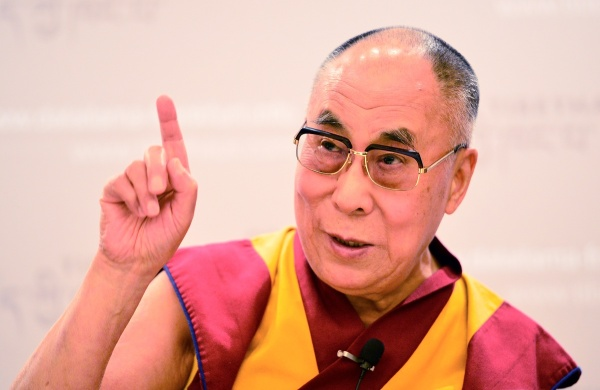 The Dalai Lama says we should ourselves act for peace