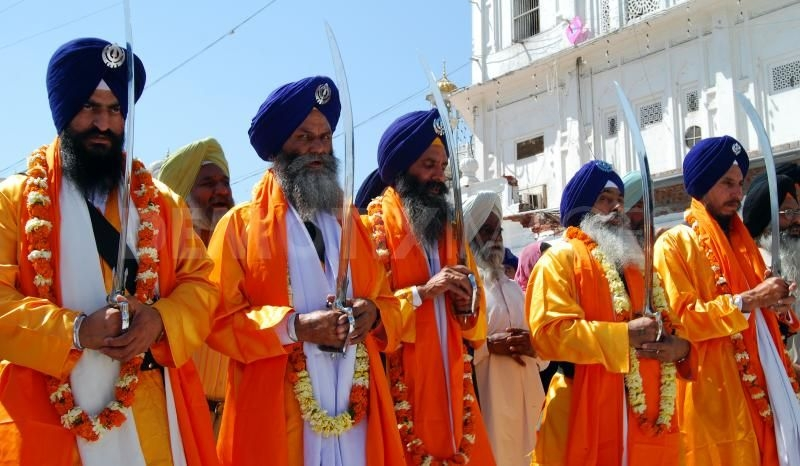 Hola Mohalla Jodh Mela starts with Old Sikh Traditions