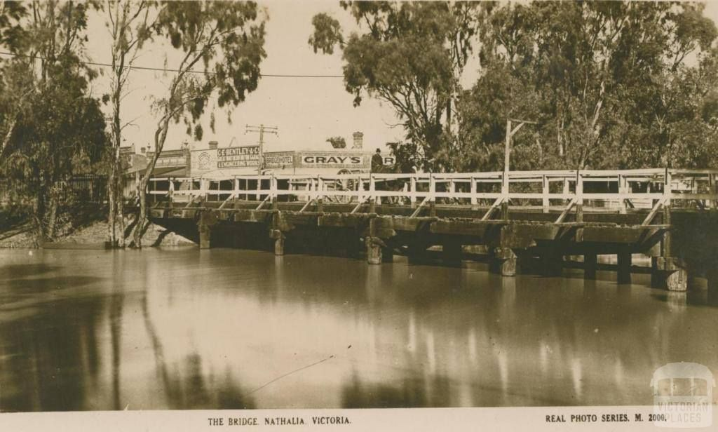 Bridge over the Broken River at Nathalia