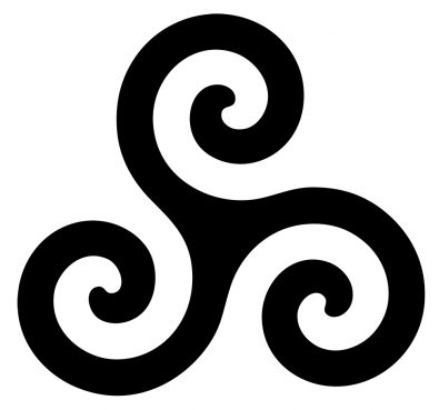 The triple spiral is one of the main symbols of Celtic Reconstructionism