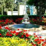 Bahá'u'lláh's time in the garden of Ridván