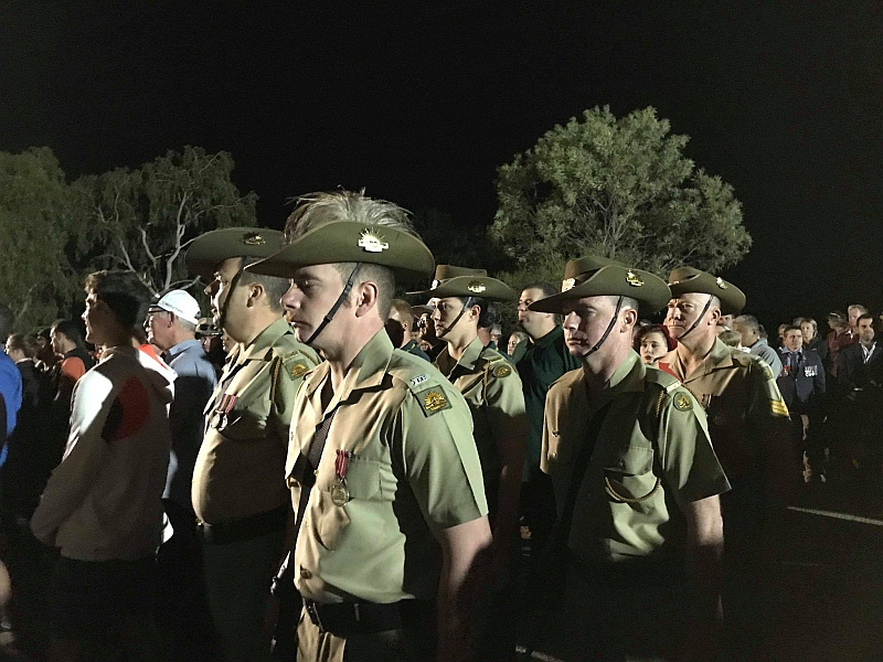 Anzac Day at Alice Springs