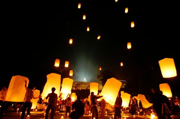 Buddhist Paper Lanterns