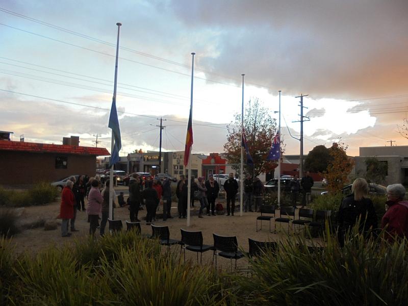 Sunset Ceremony, Latrobe University Shepparton