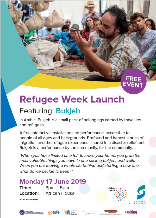 Refugee Week Shepparton 2019 Launch Program