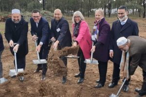 Bendigo Mosque - Turning the Sod