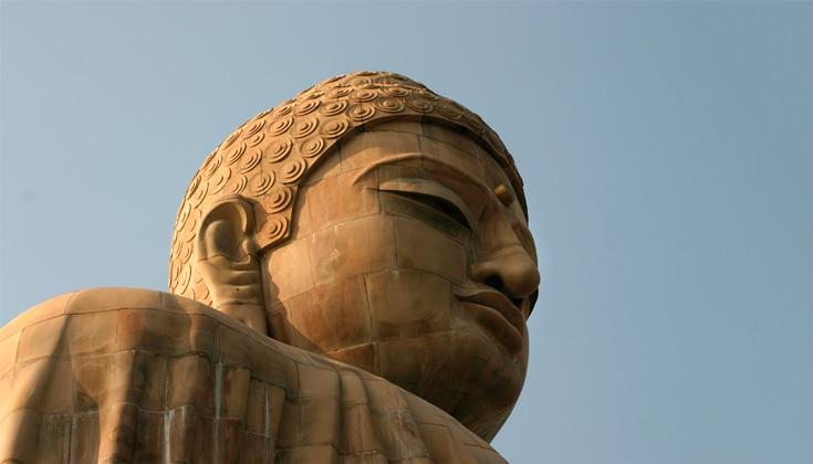 Great Buddha statue in Bodhgaya