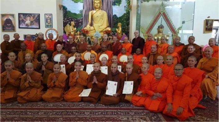 Oridination of Bhikkunis