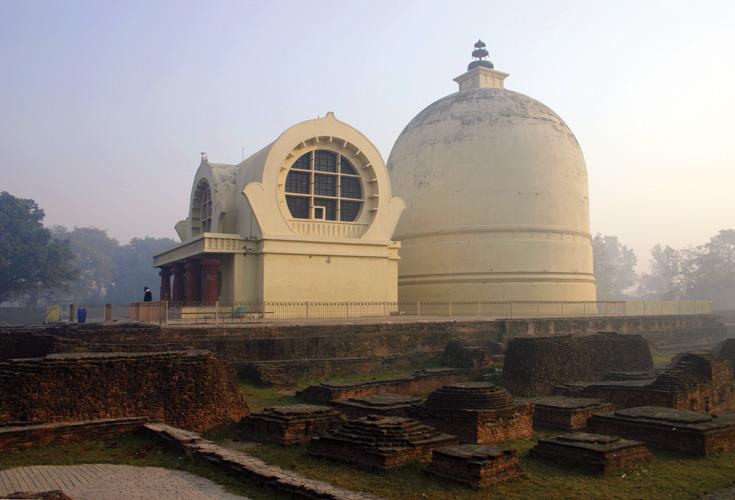 Kushinagar - Parinirvana Temple