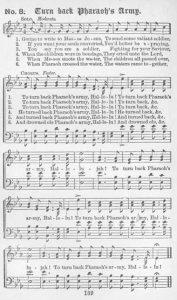 Lyrics to Turnback Pharoah's Army