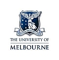 Small University of Melbourne Logo White