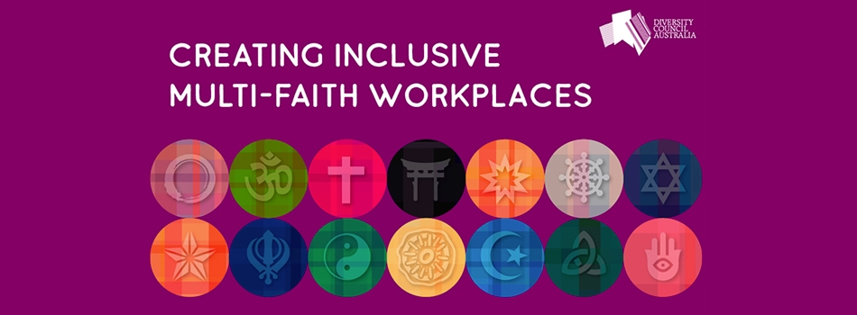 Creating inclusive multifaith workplaces logo