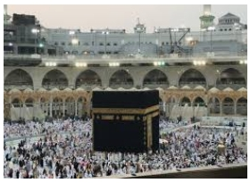 kaaba at Mecca