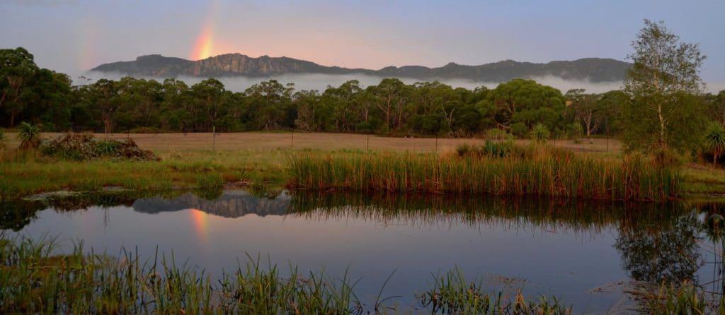 the chopped rainbow mountain