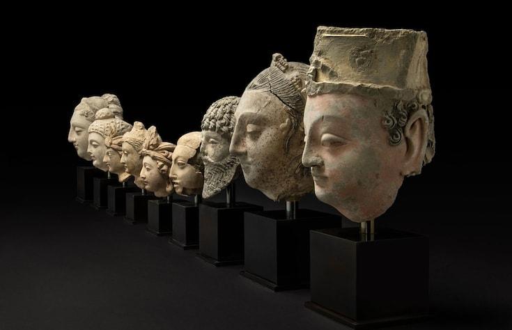 Buddhist sculptures