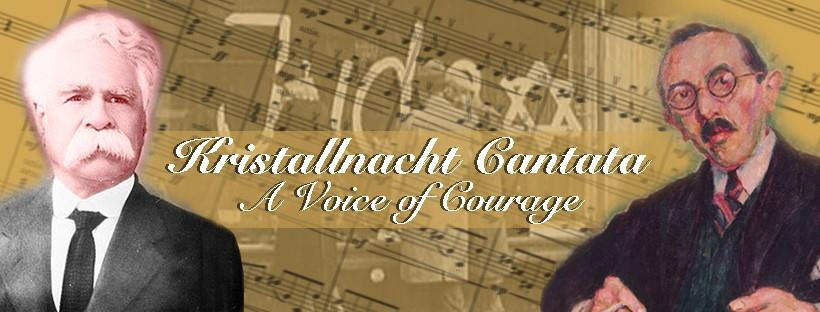 William Cooper and Otto Jontof-Hutter - World Premiere of The Kristallnacht Cantata – A Voice of Courage