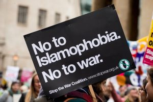 no to islamophobia