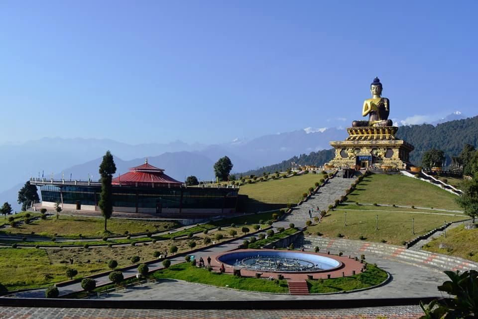 Buddha Park of Ravangla ( Tathagata Tsal ), Sikkim, India