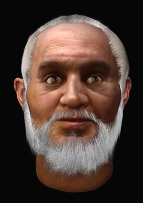 Face reconstructed from the remains of St Nicholas