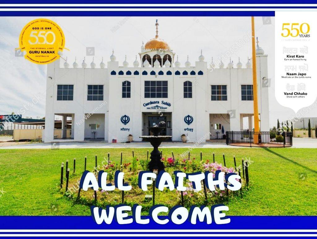 All Faiths welcome