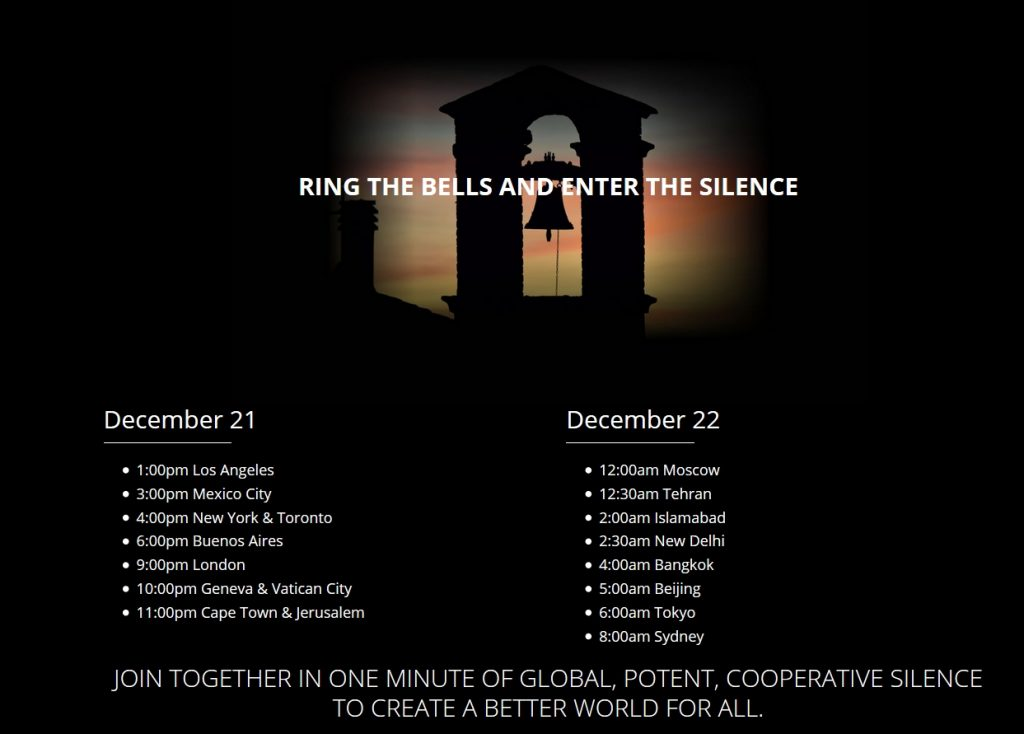 Global Silent Minute - Ring the Bells