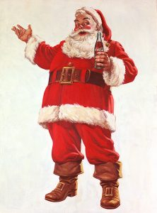 Coca Cola's santa
