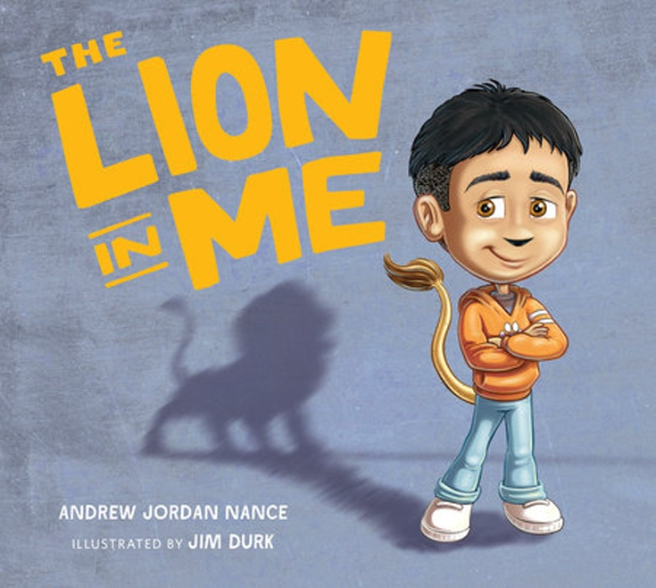 Book Cover - The Lion in Me