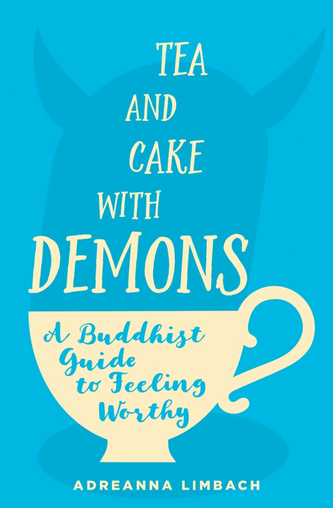 Book Cover - Tea with cake and demons