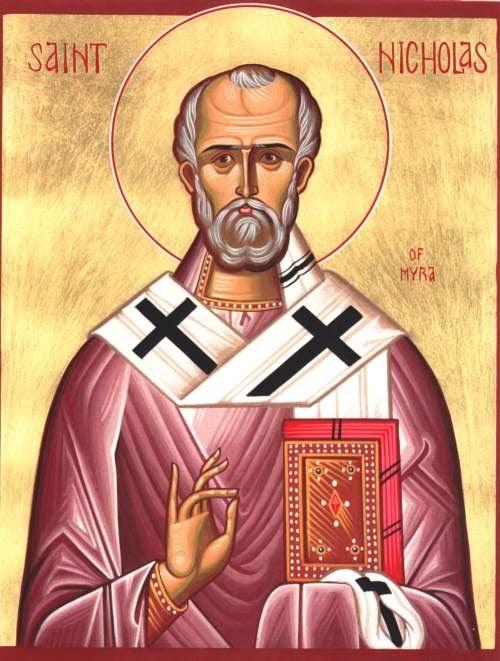 St Nicholas, pray for us.