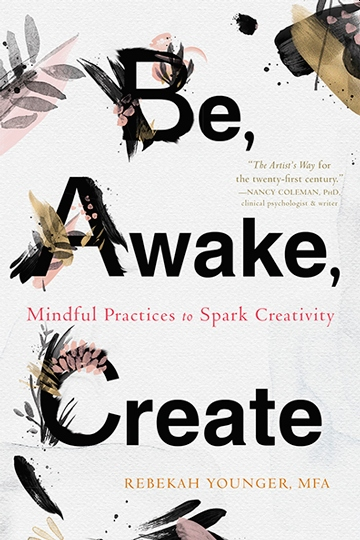 Book Cover - e, Awake, Create: Mindful Practices to Spark Creativity
