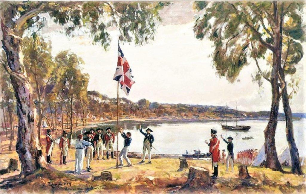 First landing at Botany Bay