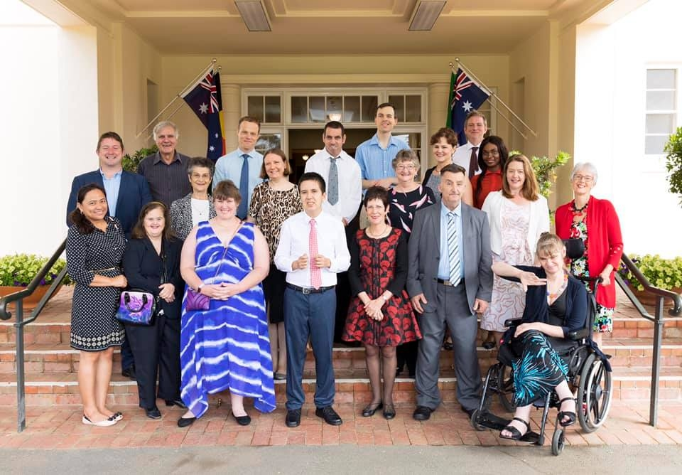 Governor General with L'Arche Community Australia