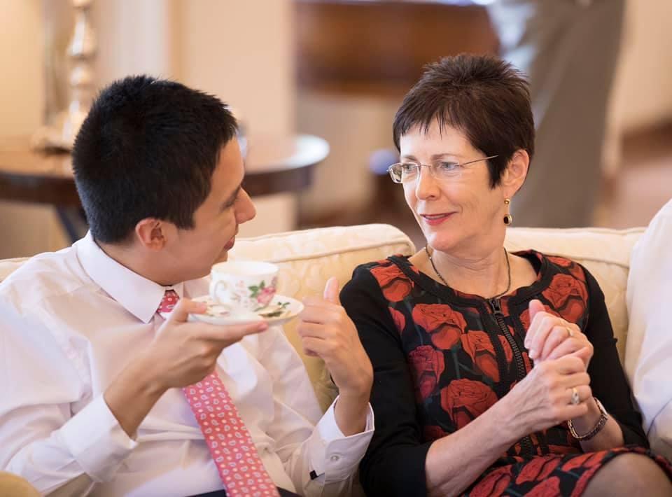 Governor General with L'Arche Community Australia