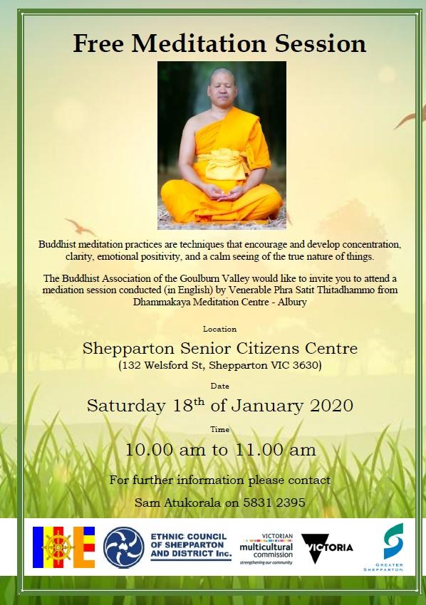 Buddhist Meditation Shepparton