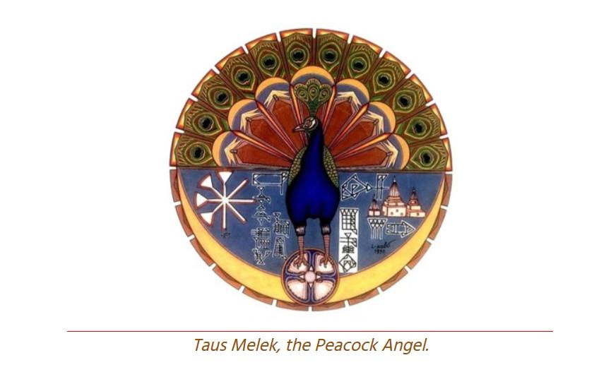 Taus Melek - the peacock angel
